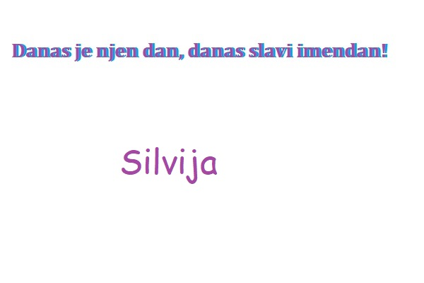 Silvija - imendan