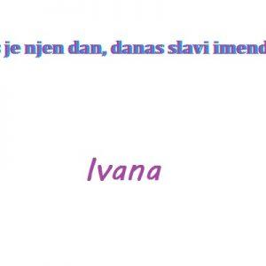 Ivana - imendan 2020. -