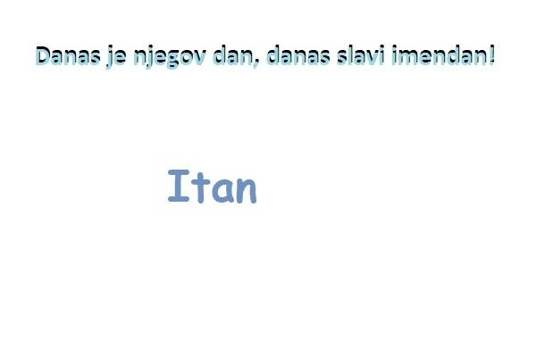 Itan - imendan