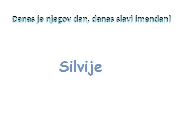 Silvije- imendan