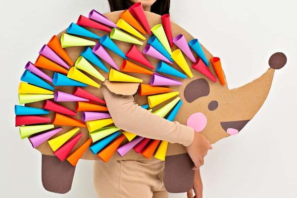 Kostimi za maškare za djecu koje možete izraditi od kartona