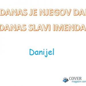 Danijel - imendan 2021. -