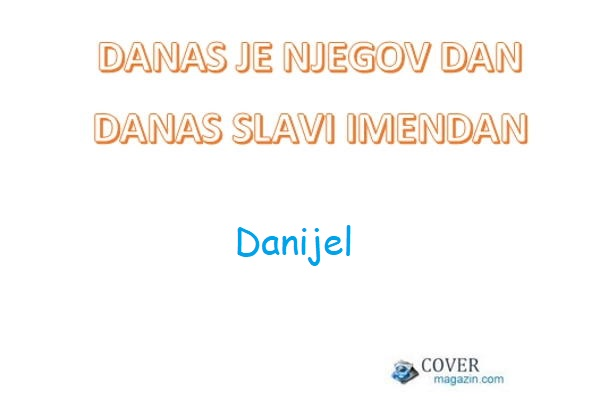 Danijel – imendan 2021. –