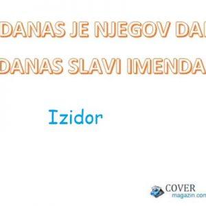 Izidor - imendan 2021. -