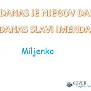 Miljenko - imendan 2021. -