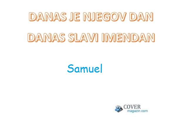 Samuel – imendan 2021. –