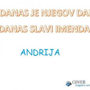 Andrija - imendan 2021. -