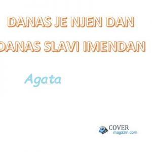 Agata - imendan 2021. -
