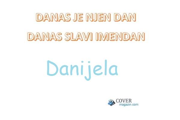 Danijela - imendan 2021. -
