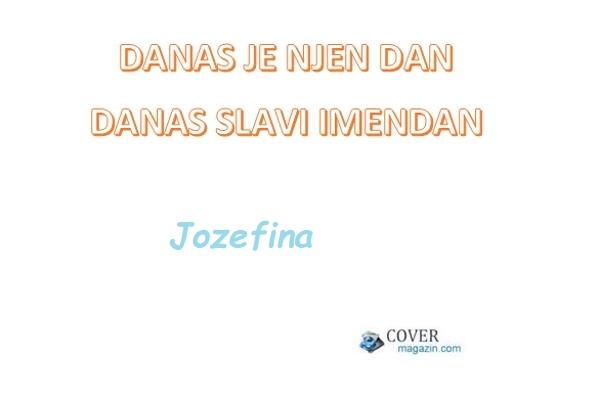 Jozefina – imendan 2021. –
