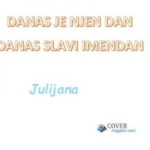 Julijana - imendan 2021. -