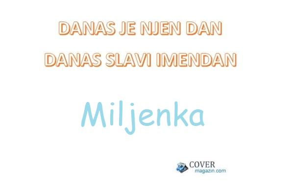 Miljenka – imendan 2021. –