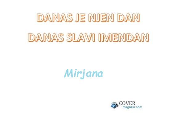 Mirjana - imendan 2021. -